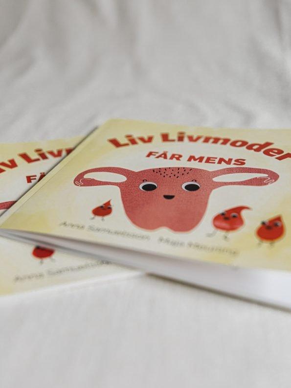 Liv Livmoder - Sveriges första barnbok om mens Produktbild 3